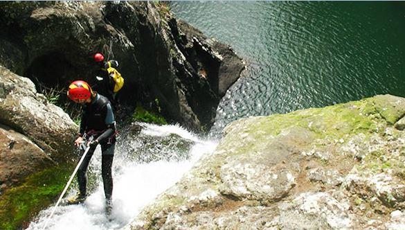 Vertical World Canyonning Ile Maurice